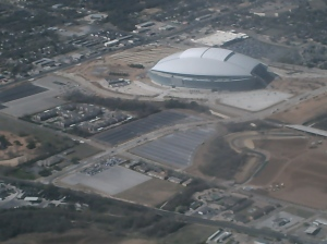 """Jerry World,"" Arlington, Texas."