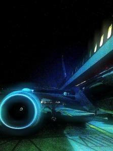 737 night