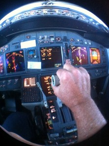 Power control is key to airspeed.