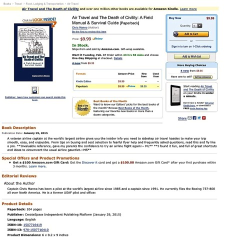 Airline Amazon screenshot