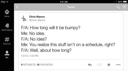 崎岖不平的推特