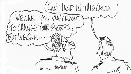Land in crud