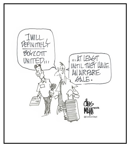 air boycott