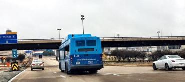 DFW parking bus 1