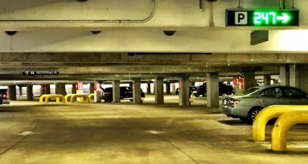 DFW parking garage 1