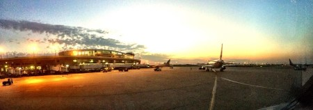 DFW sunset