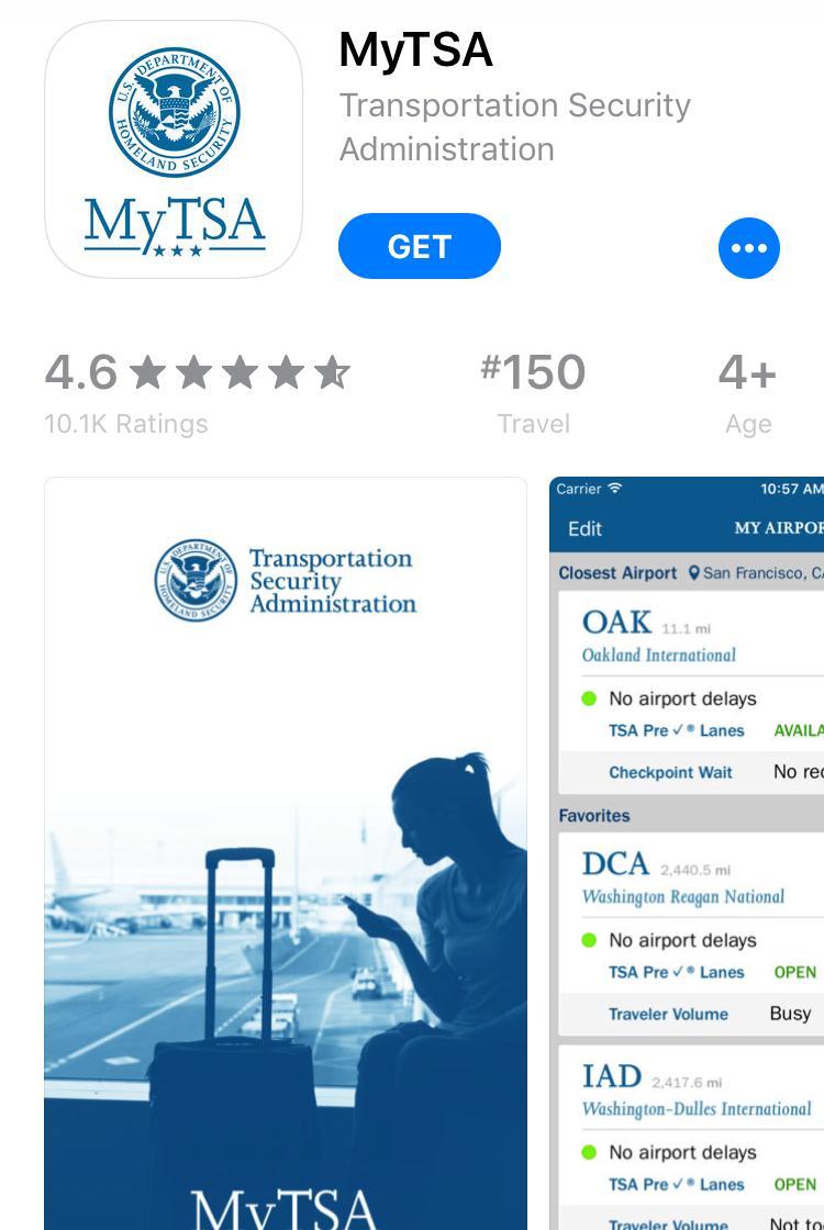 TSA app