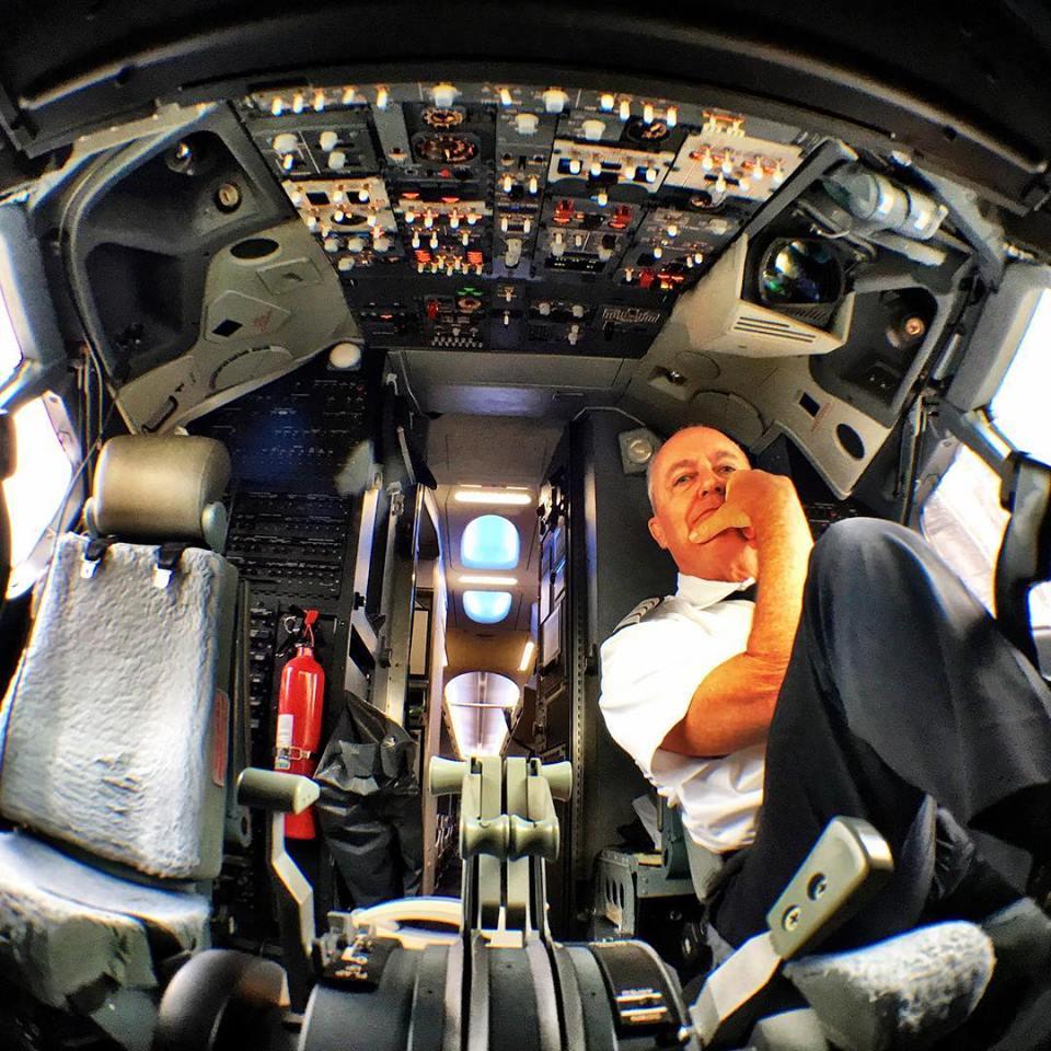 selfie cockpit 2