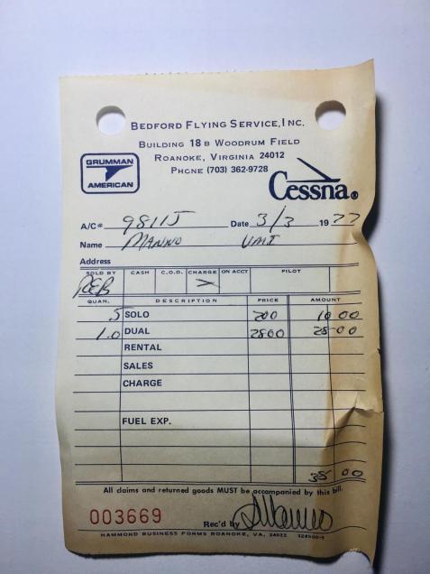 solo receipt